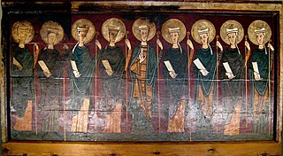 Altar frontal from Tavèrnoles