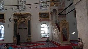 Zagan Pasha Mosque - Interior of Zagan Pasha Mosque.