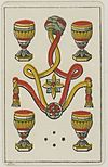 Aluette card deck - Grimaud - 1858-1890 - Four of Cups.jpg