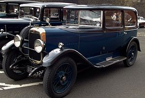 Alvis Car and Engineering Company - 1928 12/50 Sportsman's 2-door saloon