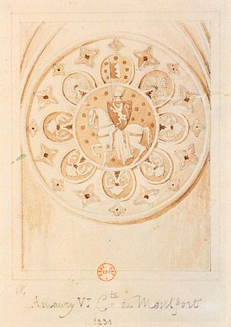 Amaury VI of Montfort - Image: Amaury IV de Montfort