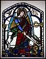 Ambrogio lorenzetti, san michele vittorioso sul demonio, vetrata, 1325-30 ca. (siena, palazzo pubblico).jpg