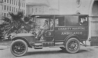 Charity Hospital (New Orleans) - Ambulance, 1912