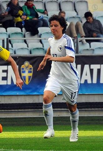 FK Sarajevo - Amela Kršo representing Bosnia & Herzegovina