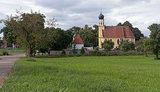 Amerdingen - Image: Amerdingen, katholische Pfarrkirche Sankt Vitus Dm D 7 79 112 3 foto 4 2016 08 03 16.29