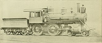 Rogers Locomotive and Machine Works - A builder's photo of a Rogers locomotive for the Ferrocarril del Estado de Chile in 1893