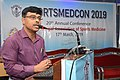Amit Bandyopadhyay Delivering Lecture - Fitness Profile of Young Muslim Males of Kolkata During the Month of Ramadan Intermittent Fasting - SPORTSMEDCON 2019 - SSKM Hospital - Kolkata 2019-0 3515.JPG