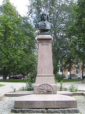 Anders Chydenius - Statue of Anders Chydenius in Kokkola, Finland.