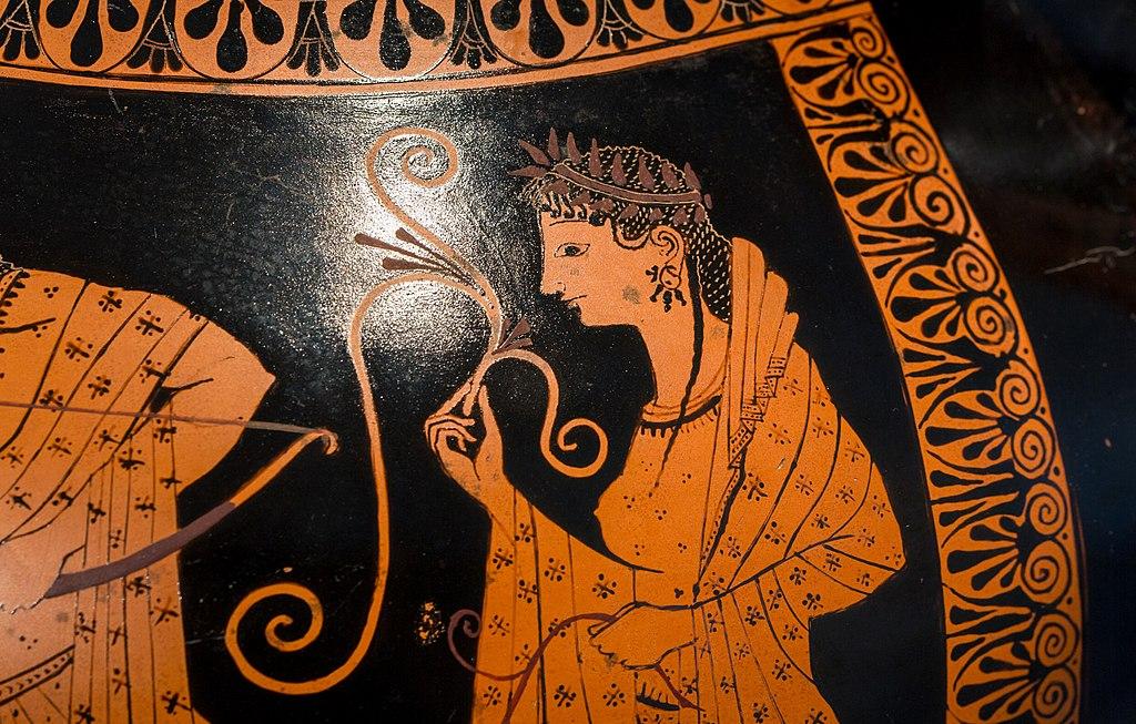 Andokides Painter ARV 3 1 Herakles Apollon tripod - wrestlers (11)