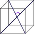 Angle between the diagonal cube.PNG