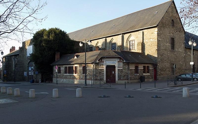 Бывший Якобинский монастырь в Ренне Достопримечательности Ренна