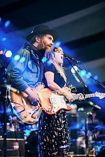 Angus & Julia Stone Australian brother & sister duo folk, indie pop group