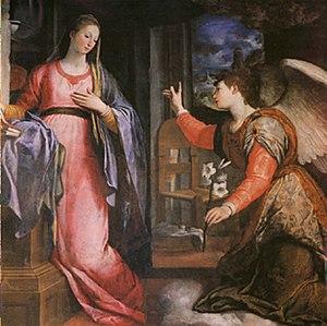 Agostino Ciampelli - Annunciation, by Agostino Ciampelli