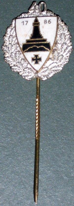 Kyffhäuserbund - Loyalty pin of German Kyffhäuserbund (post 1945) for 40 years of membership.
