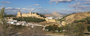 Alcazaba of Antequera - View of the Alcazaba