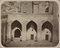 Antiquities of Samarkand. Madrasah of Ulugh Beg. View of a One-Storied Gallery Surrounding the Interior of the Courtyard WDL3870.png