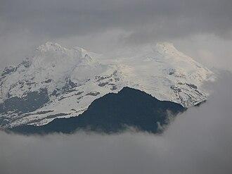 Antisana - Antisana in March 2008