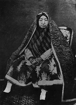 Malek Jahan Khanom, Mahd-e Olia - Image: Antoin Sevruguin 43 8 SI