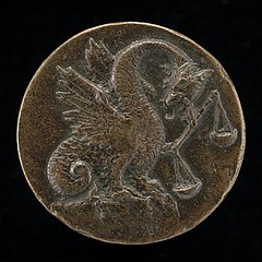 Winged Dragon with a Balance [reverse]