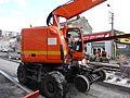 Anzin & Valenciennes - Travaux de raccordement des lignes A & B du tramway de Valenciennes à la Croix d'Anzin le 19 août 2013 (09).JPG