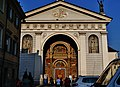 Aosta Cattedrale San Giovanni Battista Fassade 2.jpg