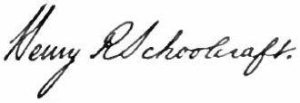 Henry Schoolcraft - Image: Appletons' Schoolcraft Lawrence Henry Rowe signature