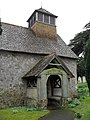 Approaching the entrance to St Agatha, Coates - geograph.org.uk - 1763994.jpg