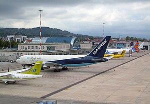 Abruzzo Airport - Apron view