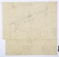 Arbetsritning, fastigheten nr 4 Hamngatan. Tavelgalleriet - Hallwylska museet - 105271.tif
