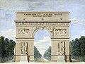 Arc de Triomphe 1811.jpg