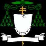 Roman Catholic archbishop's coat of arms (version with pallium)