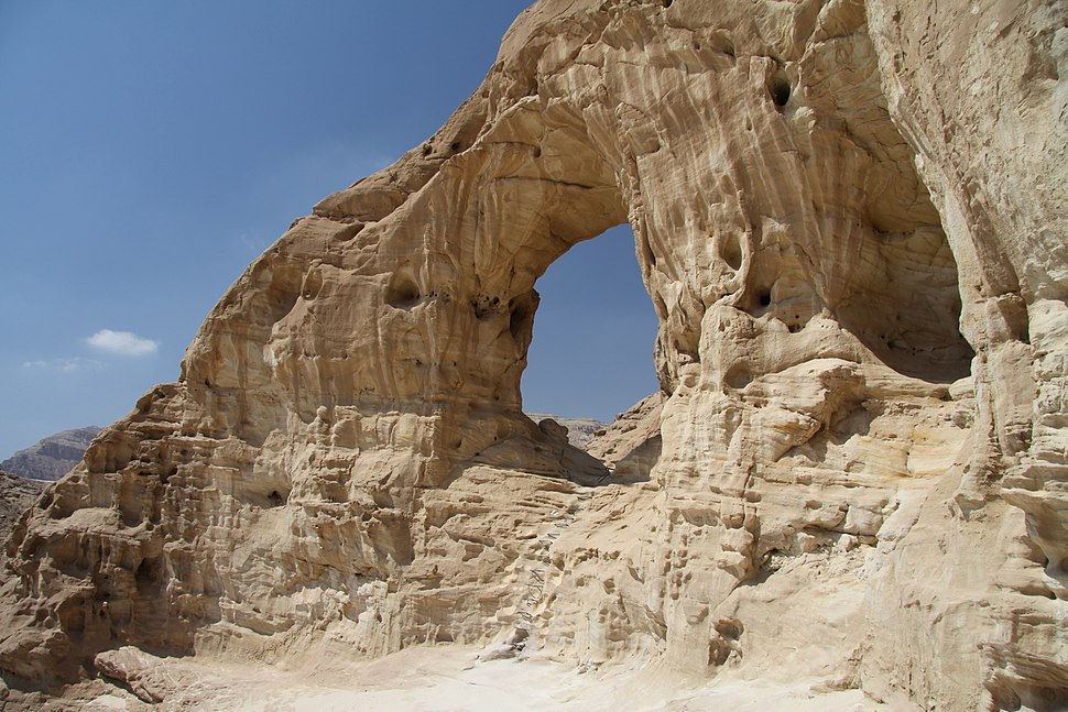 Arches in Timna Park in summer 2011 (7)