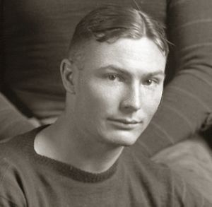 Archie Weston - Archie Weston cropped from 1919 Michigan football team photograph