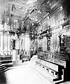 Archiginnasio, Bologna; the anatomy theatre. Photograph by Wellcome M0010168.jpg