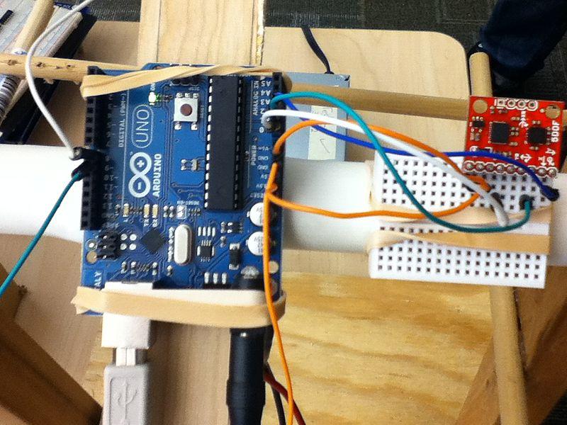 Arduino amb acceleròmetre