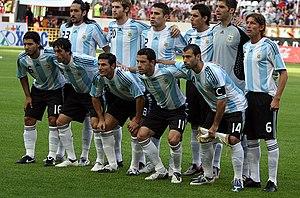 0336f926d Seleção da Argentina nas Olimpíadas de 2008
