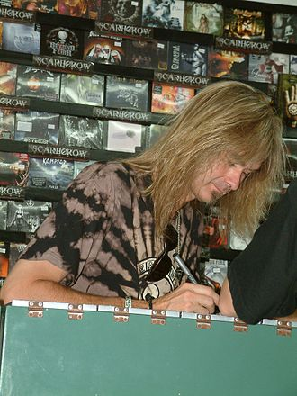 Arjen Anthony Lucassen - Arjen Anthony Lucassen at a signature event with Stream of Passion in 2006