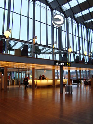 Arlanda Central Station - Entrance from Terminal 5