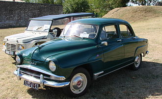 Simca - Simca Aronde (1956)