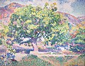 Around My House (Near a House) by Henri-Edmond Cross, 1906, Pushkin Museum.JPG