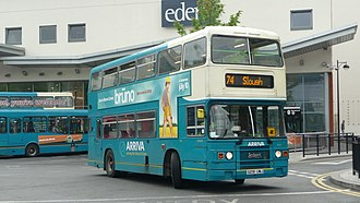 Arriva Shires & Essex - Leyland Olympian on route 74 in High Wycombe in July 2009