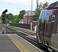 Arriva XC Voyager departing Winchester past the redundent signal box.jpg