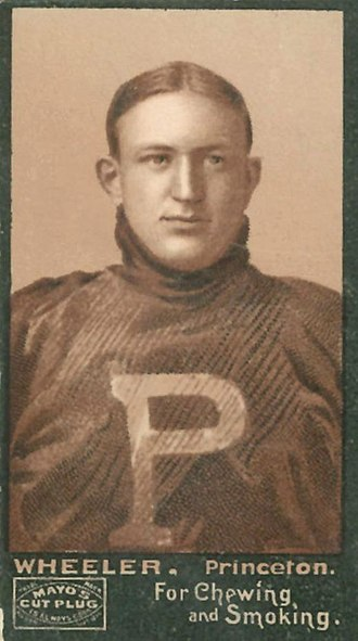 1892 College Football All-America Team - Art Wheeler of Princeton