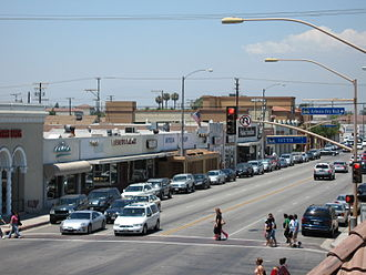 Artesia, California - Pioneer Boulevard in Artesia, California