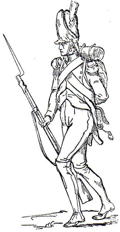 Artigliere della Vecchia Guardia Adolphe de Chesnel