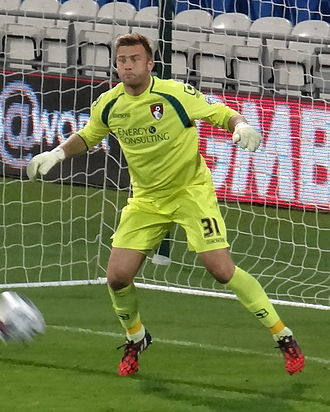 Artur Boruc - Boruc playing for AFC Bournemouth in 2014
