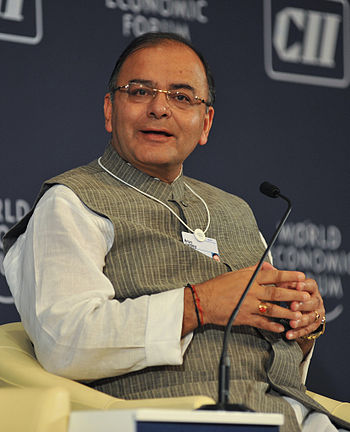 English: Arun Jaitley, Leader of the Oppositio...