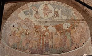 Ascension (fresco in Rotunda of Galerius).jpg