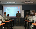 Assistant adjutant general leads professional development discussion 150328-Z-XM813-001.jpg