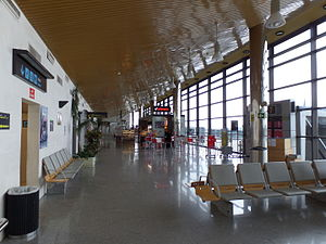 Asturias Airport - Terminal interior